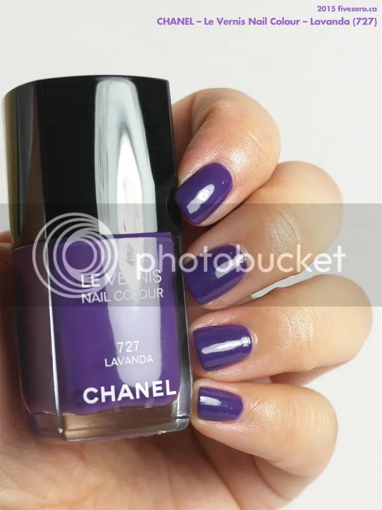 Chanel Le Vernis Nail Colour in Lavanda, swatch