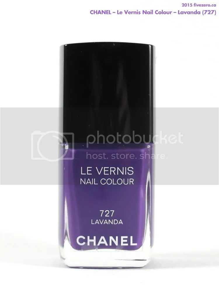 Chanel Le Vernis Nail Colour in Lavanda