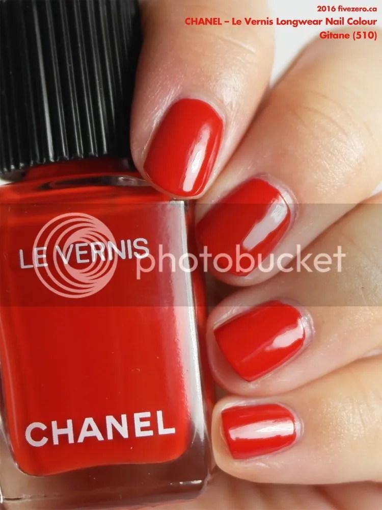 Chanel Le Vernis Longwear Nail Colour in Gitane, swatch
