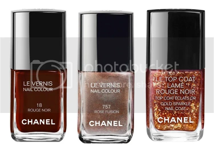 Chanel Winter 2015 collection Rouge Noir Absolument