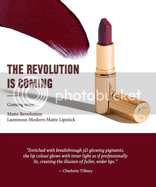 Charlotte Tilbury Matte Revolution Lipstick Teaser
