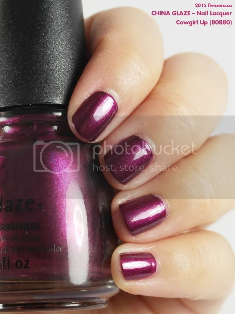 China Glaze Nail Lacquer in Cowgirl Up, swatch