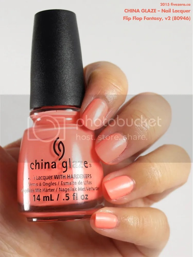 China Glaze Nail Lacquer in Flip Flop Fantasy, swatch