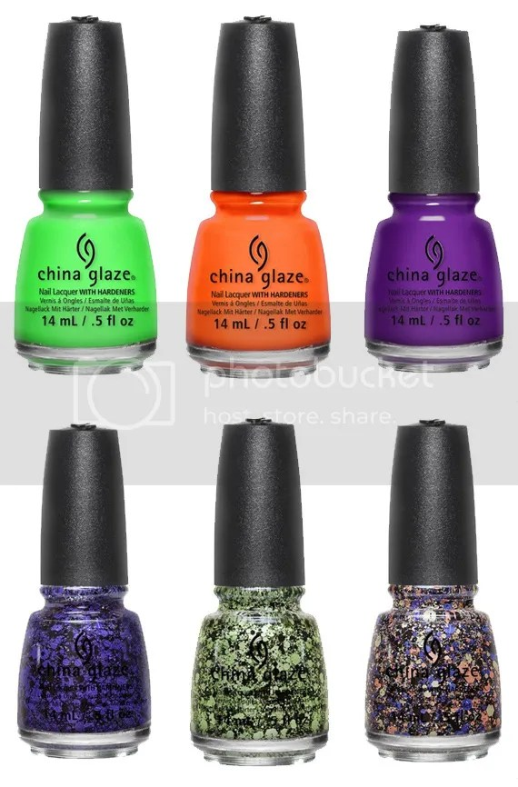 China Glaze, Ghouls' Night Out collection, Fall/Halloween 2015