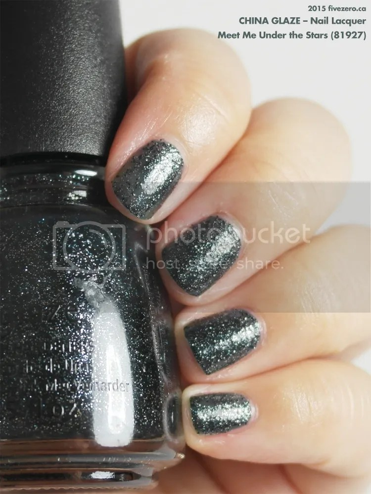 China Glaze Nail Lacquer in Meet Me Under the Stars, swatch