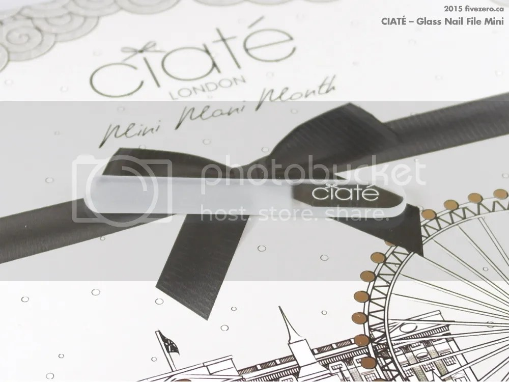 Ciaté Overnight Glass Nail File Mini