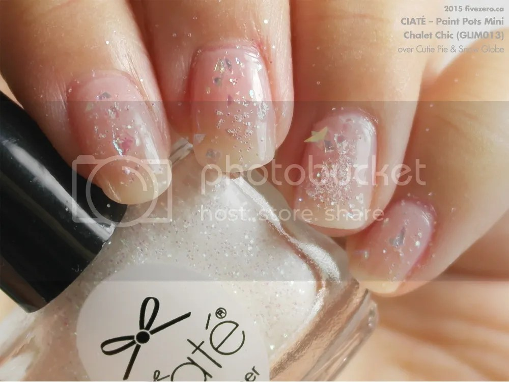 Ciaté Nail Topper Mini in Chalet Chic, swatch