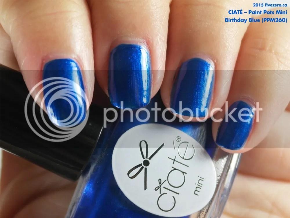 Ciaté Paint Pots Mini in Birthday Blue, swatch