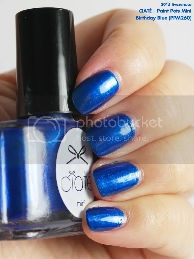 Ciaté Paint Pots Mini in Birthday Blue, swatch