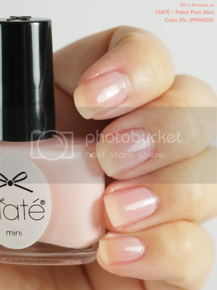 Ciaté Paint Pots Mini in Cutie Pie, swatch