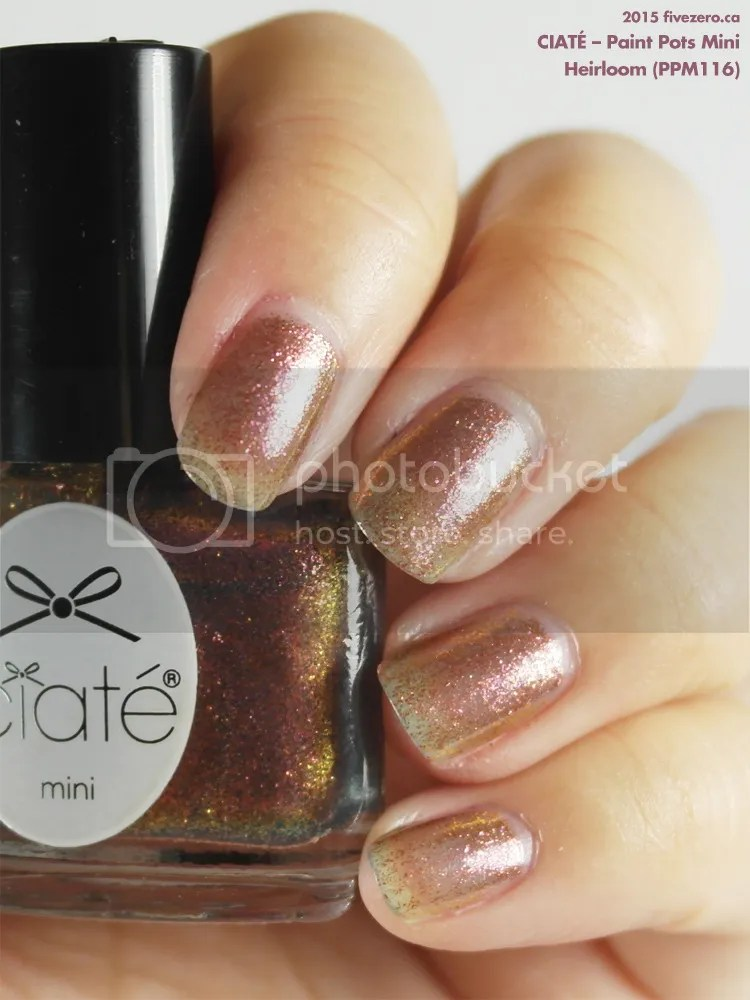 Ciaté Paint Pots Mini in Heirloom, swatch