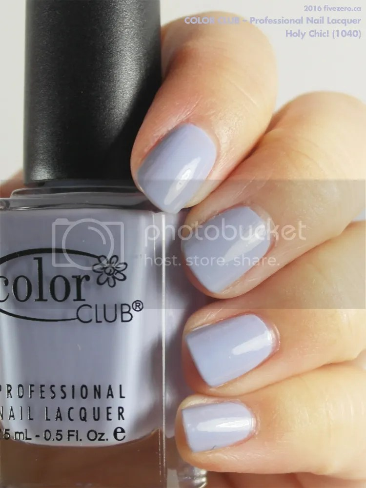 Color Club Professional Nail Lacquer in Holy Chic!, swatch