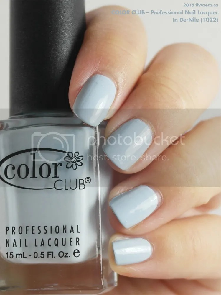 Color Club Professional Nail Lacquer in In De-Nile, swatch