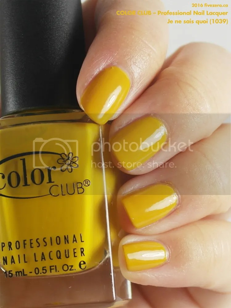 Color Club Professional Nail Lacquer in Je ne sais quoi, swatch