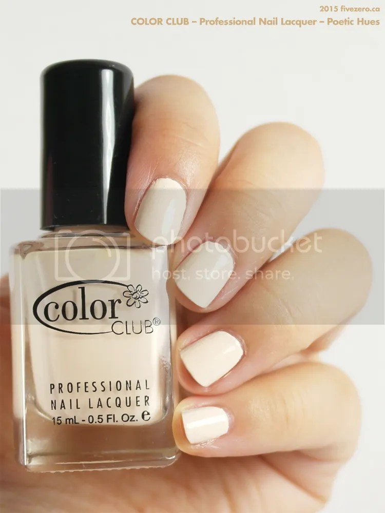 Color Club Professional Nail Lacquer in Poetic Hues, swatch