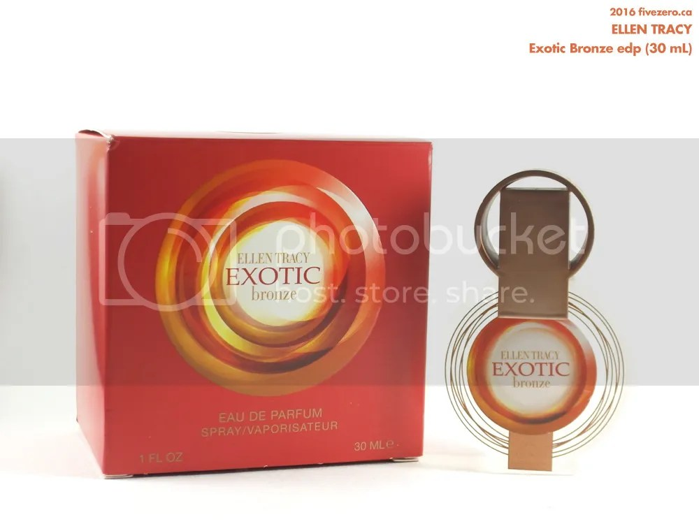 Winners haulage March 2016, Ellen Tracy Exotic Bronze eau de parfum 30 mL