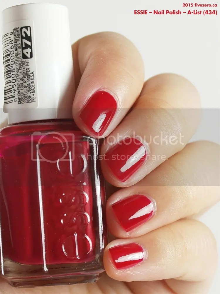 Essie Nail Polish in A-List, swatch