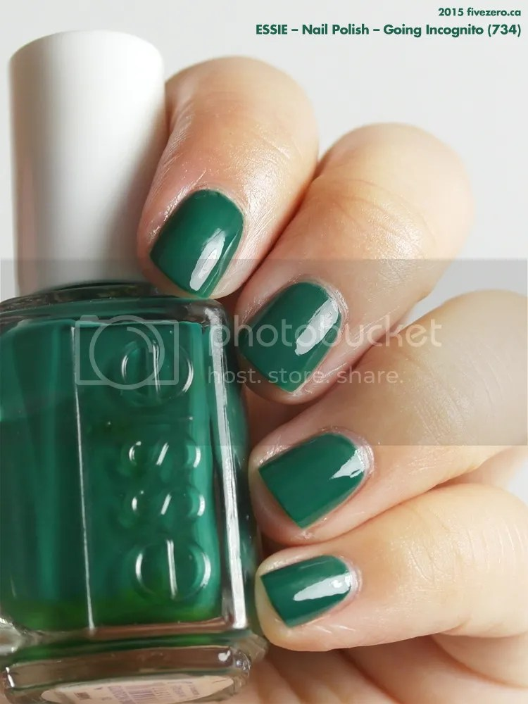 Essie Nail Polish in Going Incognito, swatch