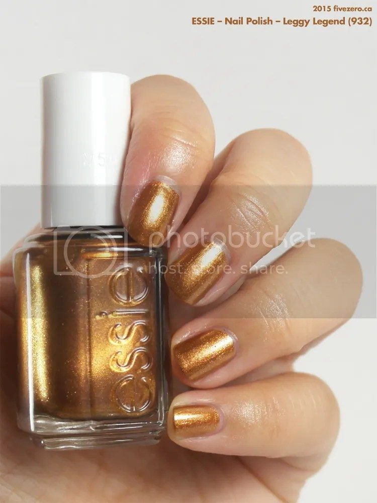 Essie Nail Polish in Leggy Legend, swatch