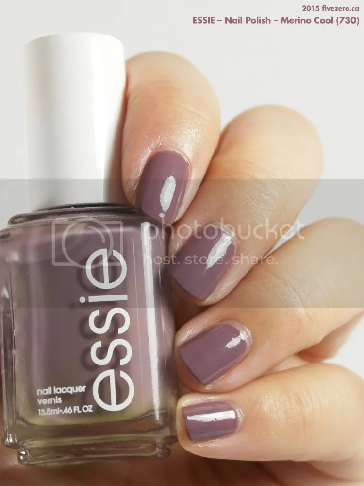 Essie Nail Polish in Merino Cool, swatch