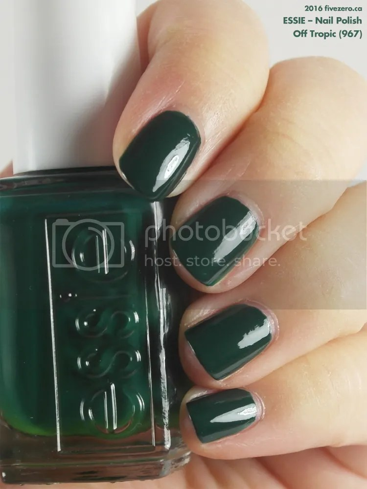 Essie Nail Polish in Off Tropic, swatch