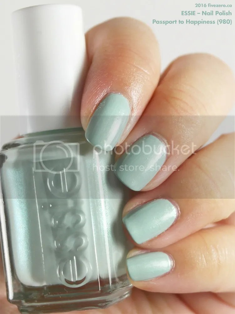 Essie Nail Polish in Passport to Happiness, swatch