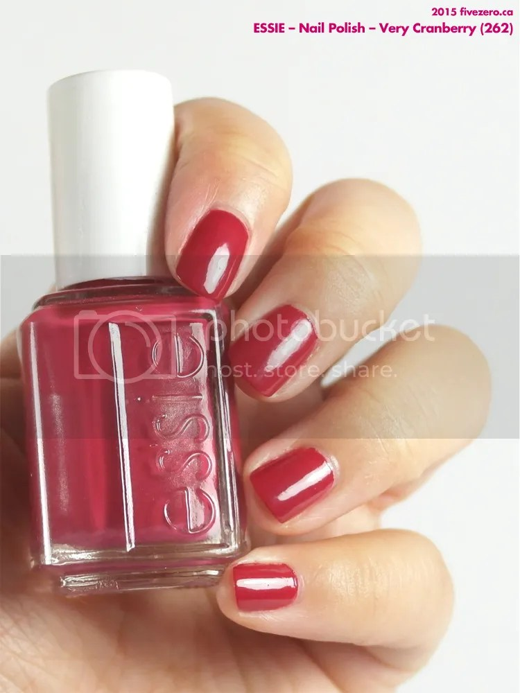 Essie Nail Polish in Very Cranberry, swatch