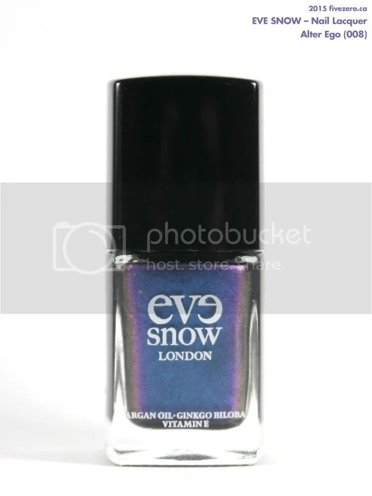Eve Snow Nail Lacquer in Alter Ego, swatch