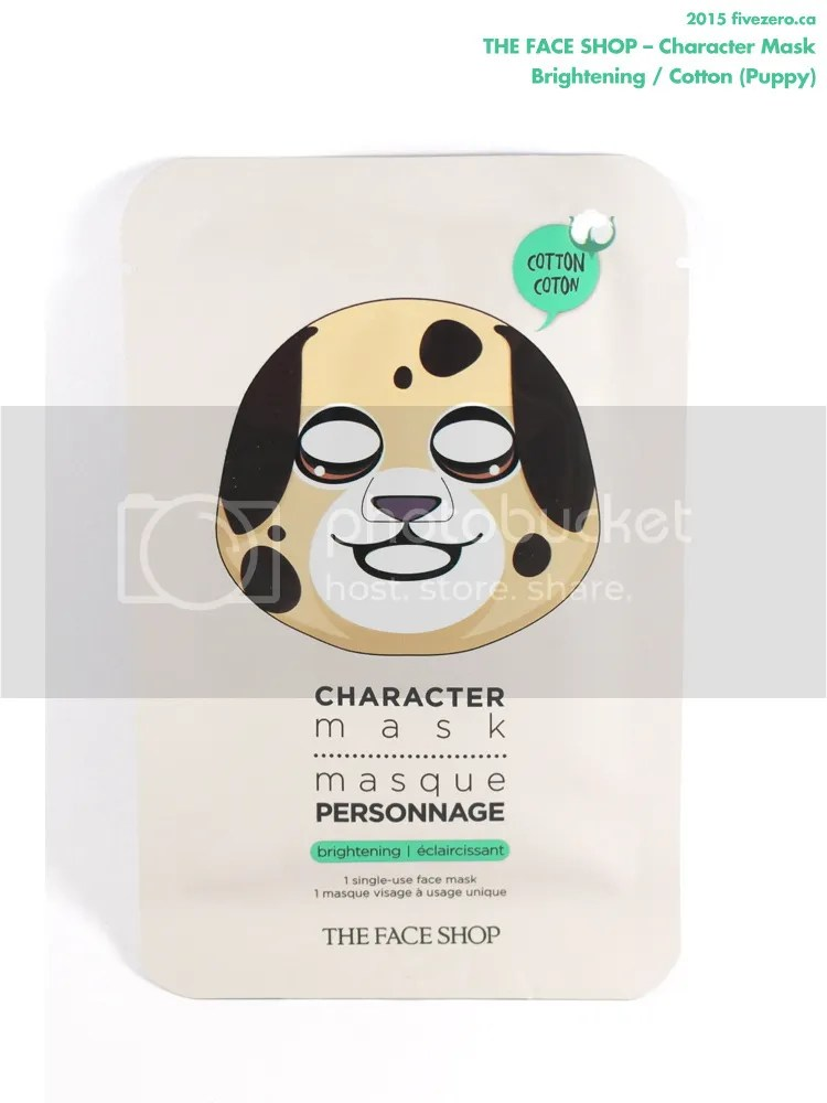 The Face Shop Character Mask in Brightening / Cotton (Puppy)