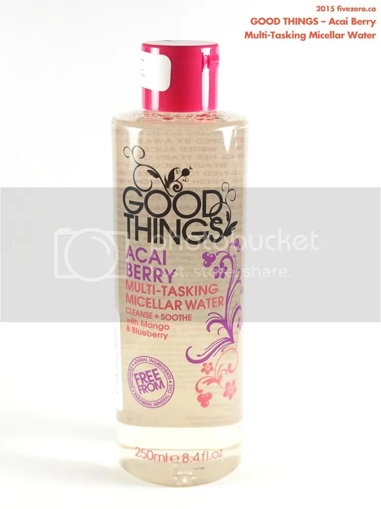 Good Things Acai Berry Multi-Tasking Micellar Water