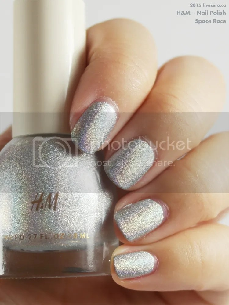 H&M Nail Polish in Space Race, swatch
