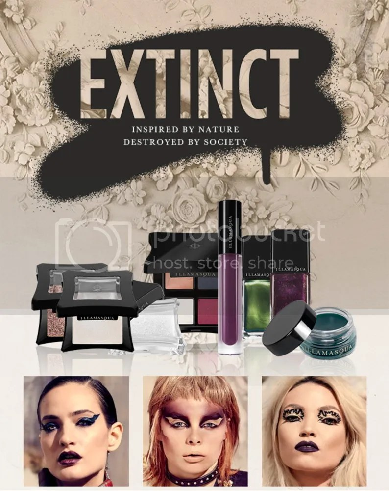 Illamasqua Extinct collection Fall 2016 products