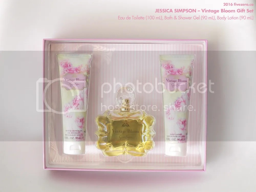 Jessica Simpson, Vintage Bloom Gift Set