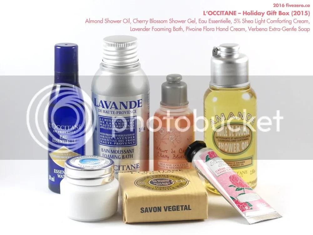 L'Occitane, Holiday Gift Box 2015