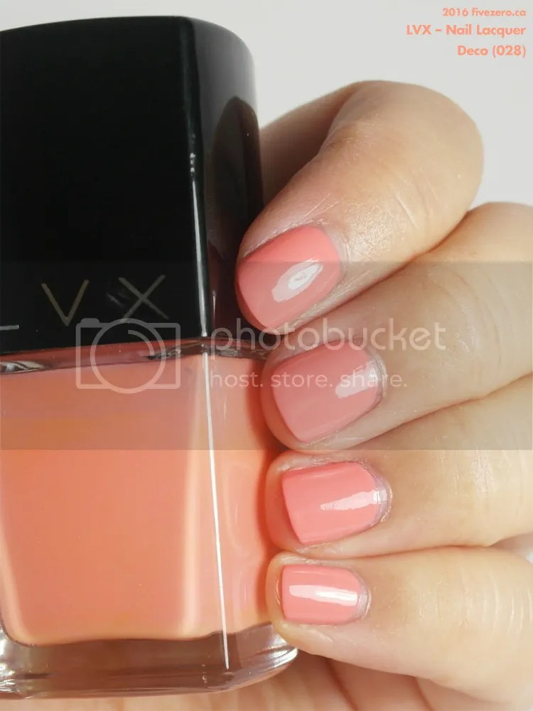 LVX Nail Lacquer in Deco, swatch