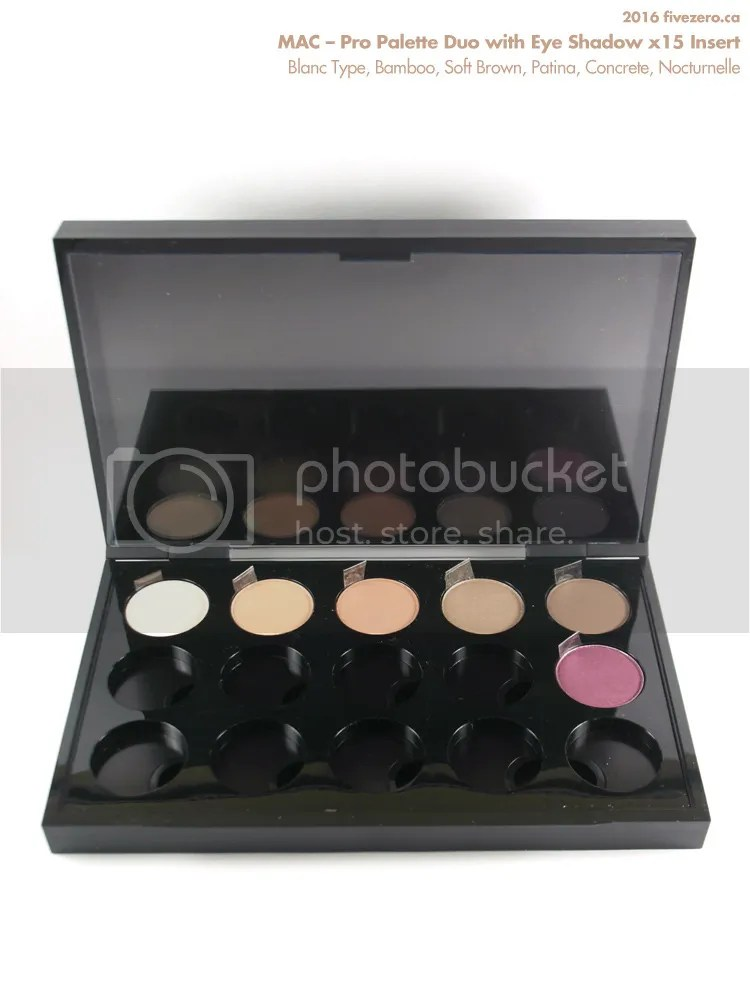 MAC Pro Palette Duo with Eye Shadow x15 Insert