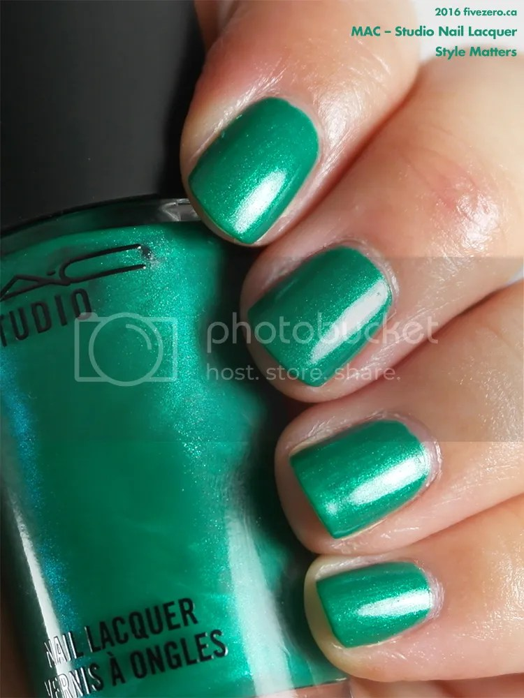 MAC Studio Nail Lacquer in Style Matters, swatch