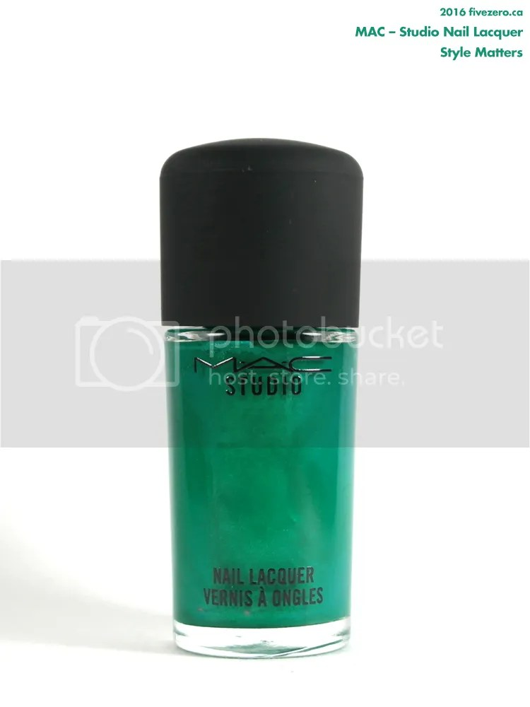 MAC Studio Nail Lacquer in Style Matters
