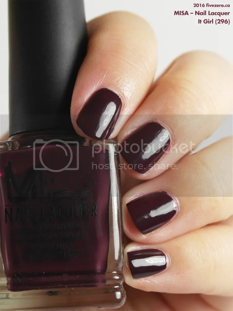 Misa Nail Lacquer in Sorry Just Can't Help It, swatch