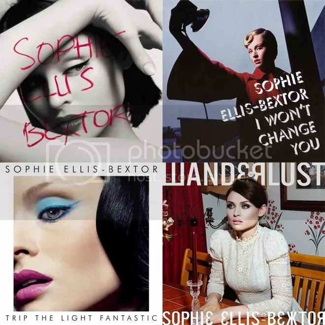 Sophie Ellis-Bextor album covers