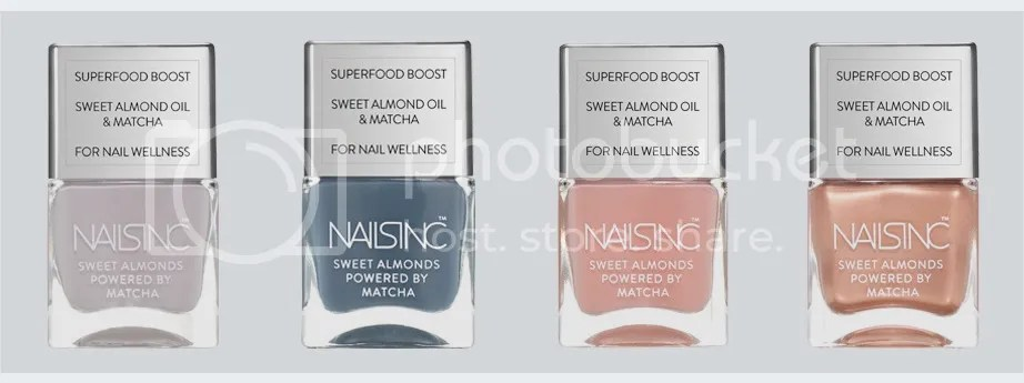 Nails Inc. Sweet Almond Powered by Matcha
