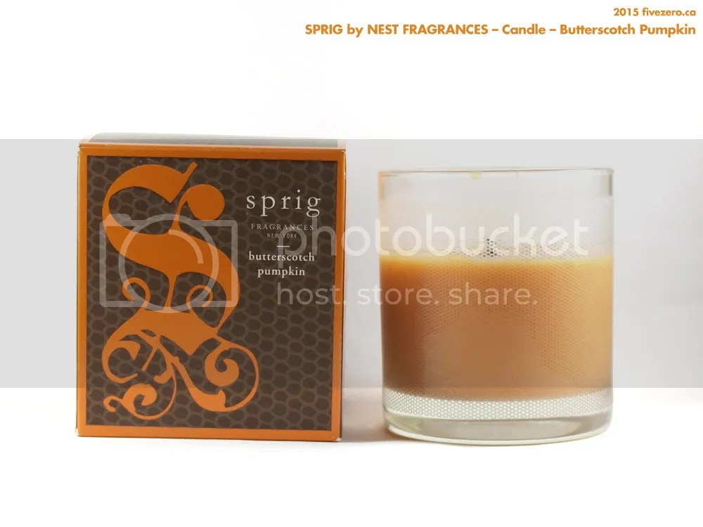 Sprig by Nest Fragrances, candle in Butterscotch Pumpkin