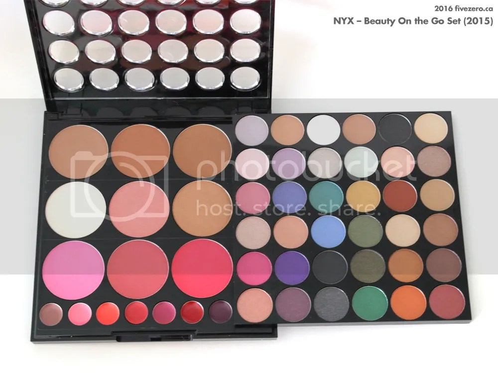 NYX, Beauty On the Go Set 2015