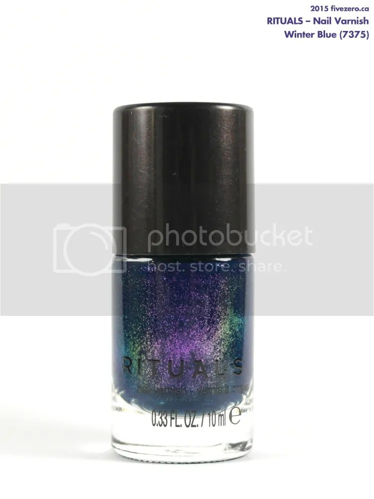 Rituals Nail Varnish in Winter Blue