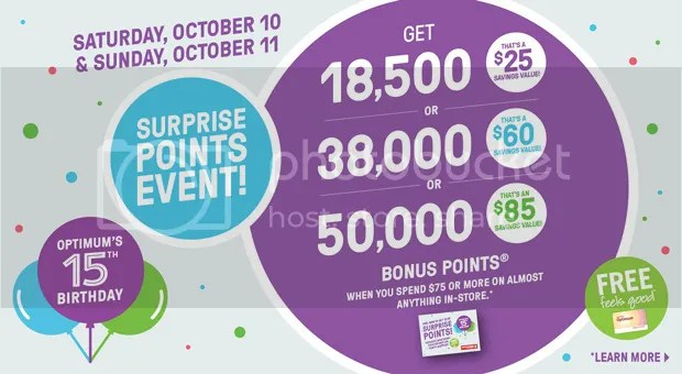 Shoppers Drug Mart Surprise Points Event