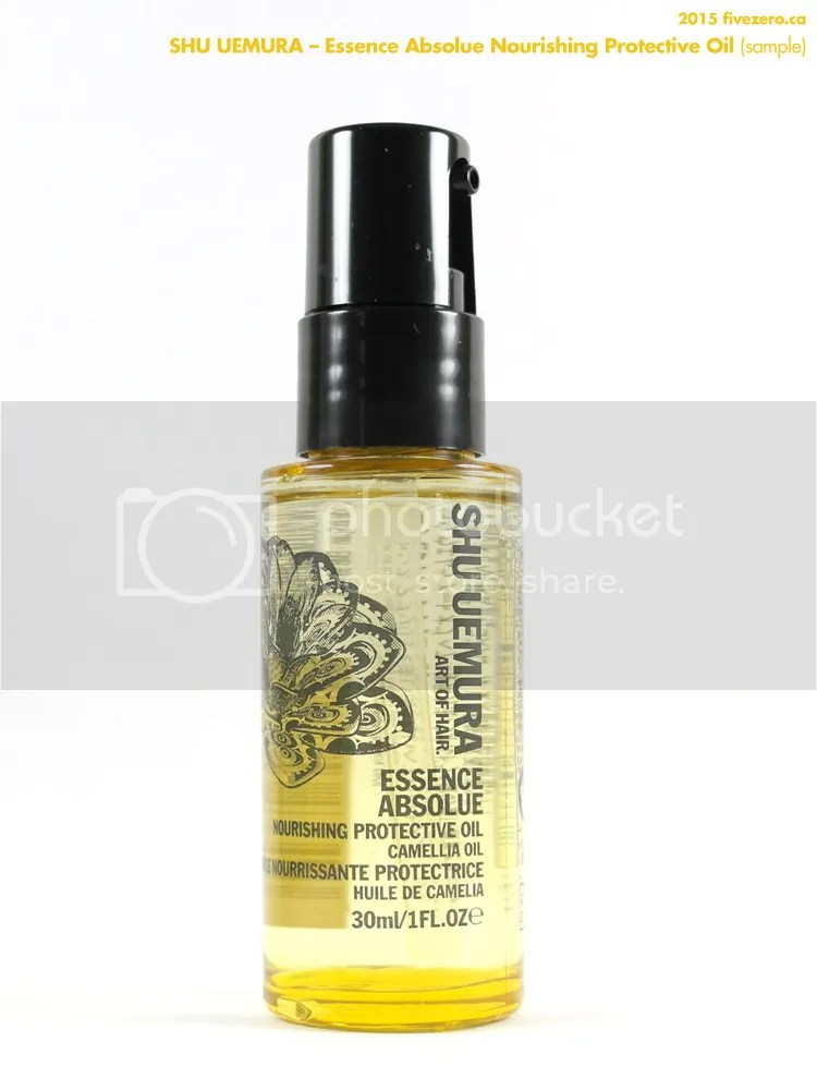 Shu Uemura Essence Absolue Nourishing Protective Oil, sample