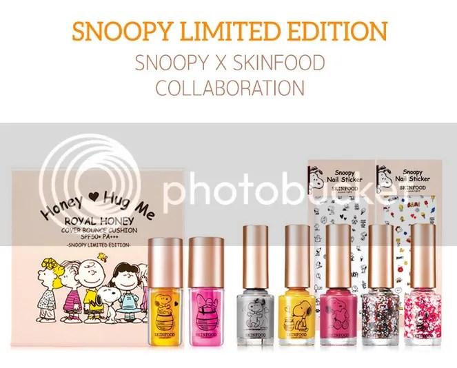 Skinfood Snoopy 2015 Collection Nail Polish