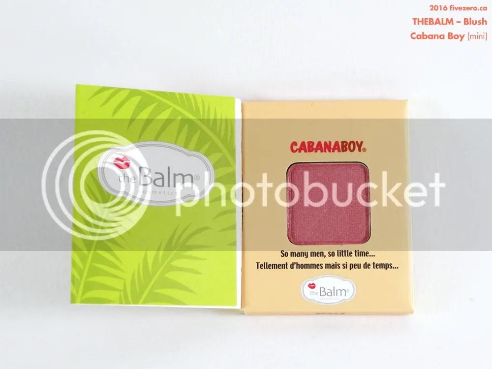 theBalm Blush in Cabana Boy (mini)