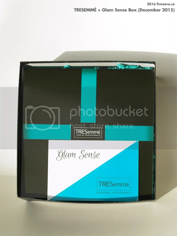 TRESemmé x Glam Sense Box, December 2015