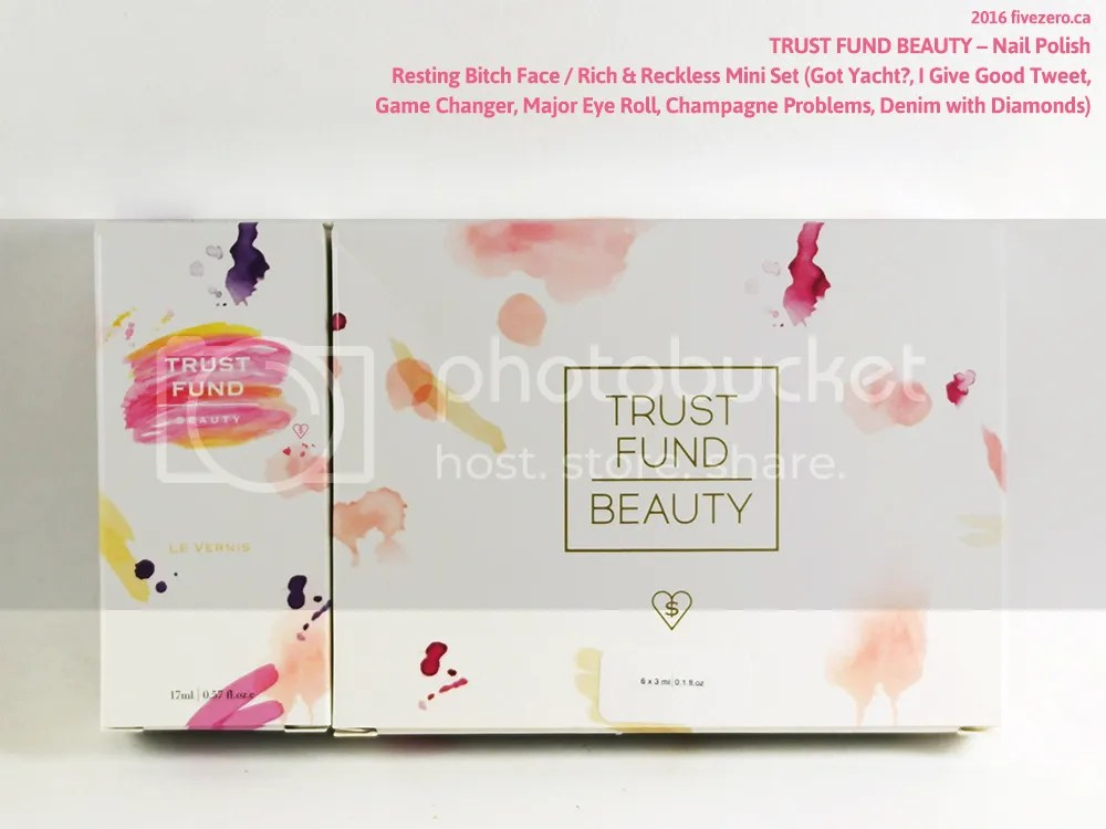 Trust Fund Beauty Nail Polish haulage 1